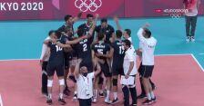 Tokio. Siatkówka mężczyzn. Polska przegrała z Iranem 2:3