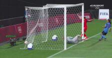 Piłka nożna kobiet. Japonia - Kanada 0:1 (gol Christine Sinclair)