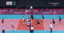 Tokio. Siatkówka mężczyzn. Ostatnie minuty meczu Polska - Iran