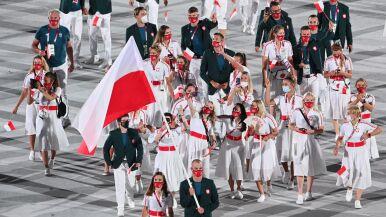 Reprezentacja Polski podczas ceremonii
