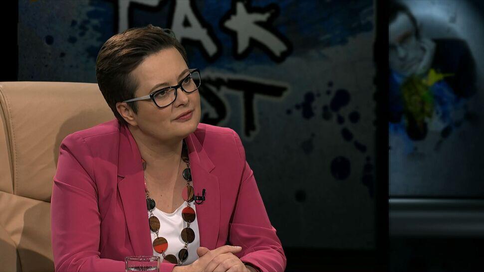 Lubnauer: mam wrażenie, że Kamili zaczęło się spieszyć, zaczęła wykonywać nerwowe ruchy