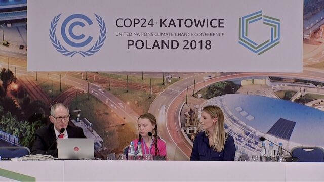 Greta Thunberg o spotkaniu z sekretarzem generalnym ONZ