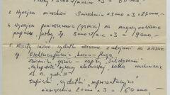 """Preliminarz wydatków grupy """"Tarnina"""", skupiającej tajne komisje zakładowe z jednej z dzielnic Wrocławia – koordynowanej przez Tadeusza Świerczewskiego. Niewykluczone, że notatkę podpisał Kornel Morawiecki, bo """"Gajowy"""" był jednym z jego pseudonimów. Możliwe jednak, że ów """"Gajowy"""" to Kazimierz Wasiak"""