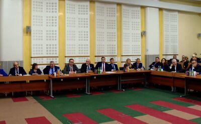 Radni sejmiku podlaskiego mają przerwę w obradach do 11 grudnia