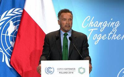 Schwarzenegger apeluje do lokalnych liderów. Powtórzył legendarny cytat filmowy