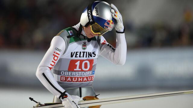 Mistrz olimpijski w skokach nie został w domu. Na wakacjach doznał kontuzji