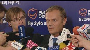 Donald Tusk: październikowy termin wyborów jest najbardziej realistyczny