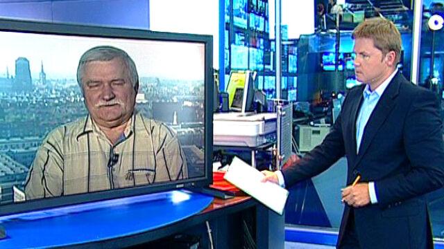 Wałęsa: Jak najszybciej wymienić premiera