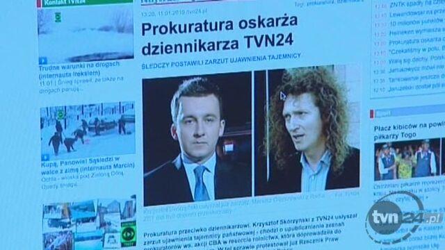Prokuratura kontra dziennikarze/TVN24