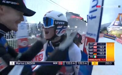 Lindvik wygrał konkurs w Innsbrucku