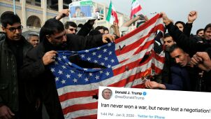 Teheran zapowiada