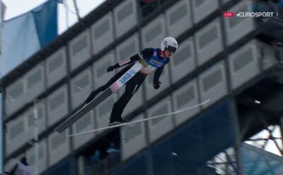 Skok Piotra Żyły z kwalifikacji w Innsbrucku