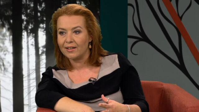 """Gościem """"Xięgarni"""" była Elżbieta Cherezińska"""