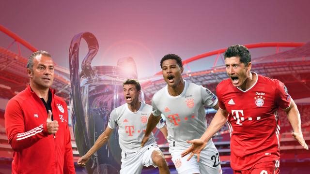 """Trener Bayernu wierzy w """"Lewego"""". """"Mam nadzieję, że w finale też strzeli"""""""