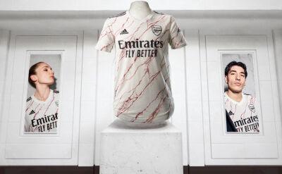 Arsenal przedstawił wyjazdowe koszulki na nowy sezon