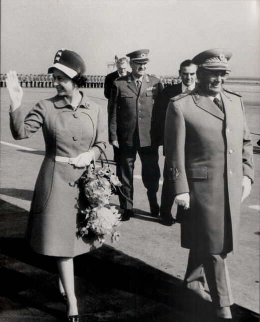 Z Josipem Broz Tito w Belgradzie,1972
