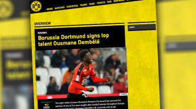 Chciała go Barca, wybrał Dortmund. BVB przechwyciła wielki talent