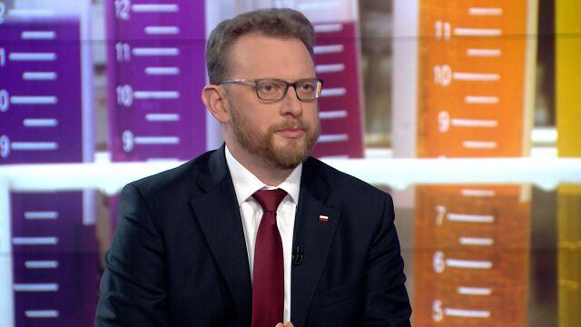"""Minister zdrowia Łukasz Szumowski był gościem w """"Faktach po faktach"""""""
