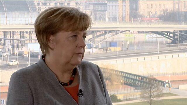 Angela Merkel  przypomniała o odpowiedzialności Niemiec za Holokaust