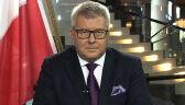 Czarnecki o głosowaniu: reguły zmieniono w trakcie gry