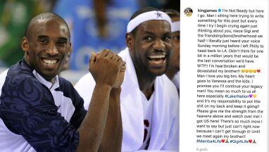 LeBron złożył obietnicę Bryantowi.