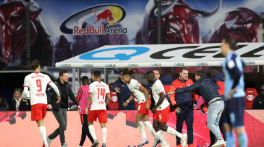 Lipsk uratował się w końcówce, ale Bayernu nie wyprzedził. Werner bez gola
