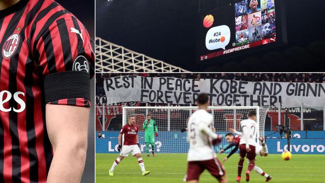 """""""Legendy nigdy nie umierają"""". Milan pamiętał o Bryancie"""