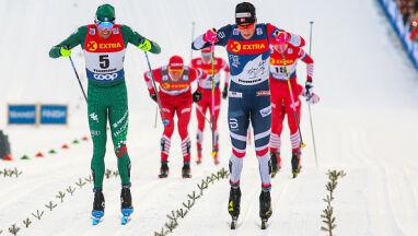 Wspinaczka zadecyduje, czy Klaebo wygra Tour de Ski