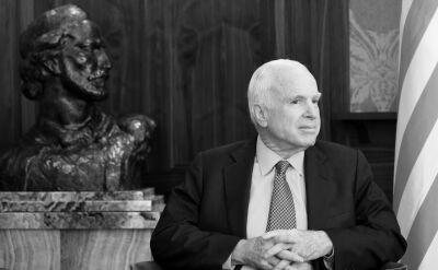 Jacek Stawiski z TVN24BiS wspomina Johna McCaina