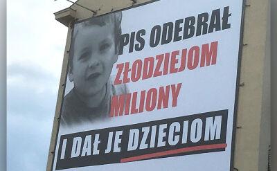 """""""PiS odebrał złodziejom miliony i dał je dzieciom"""". Odpowiedź na akcję PO i Nowoczesnej"""