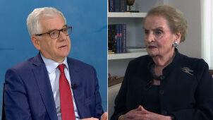 Madeleine Albright i Jacek Czaputowicz