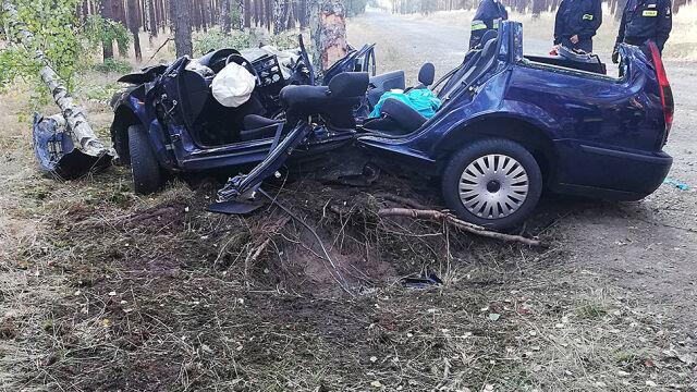 Jej mąż nie przeżył wypadku, na pomoc czekała przy nim do rana. 26-latka zmarła w szpitalu