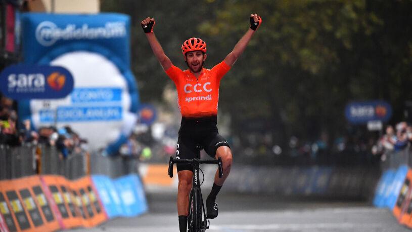Historyczny sukces polskiej ekipy na buntowniczym etapie Giro d'Italia