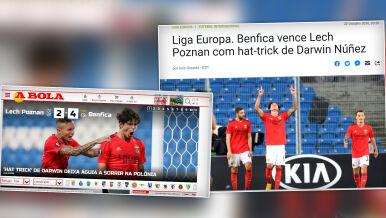 """Chwalą Lecha w Portugalii. """"Benfica się męczyła"""""""