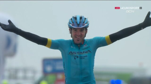 Ion Izagirre wygrał 6. etap Vuelta a Espana