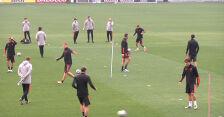 Trening piłkarzy Juventusu przed meczem z Dynamo Kijów