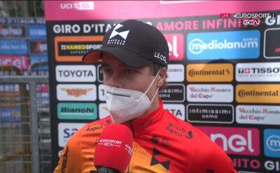 Tratnik po wygraniu 16. etapu Giro d'Italia