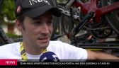 Zmarł dyrektor sportowy Team INEOS Nicolas Portal
