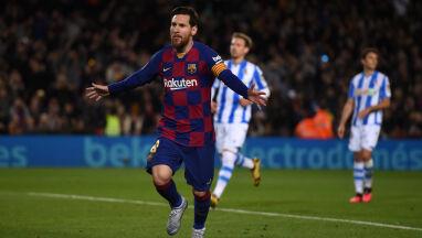 Barcelonie długo nie szło. Messi przerwał męczarnie