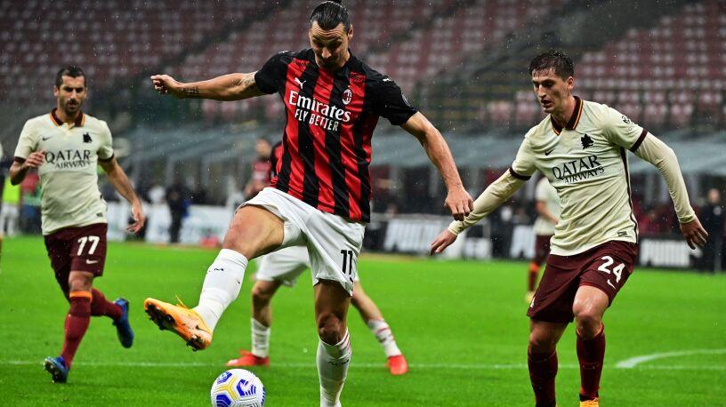 Grad goli w szlagierze Serie A.  Milan stracił pierwsze punkty
