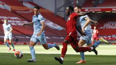 Nieskuteczny Liverpool. Pierwszy raz zatrzymany  na Anfield