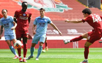Liverpool - Burnley w 35. kolejce Premier League