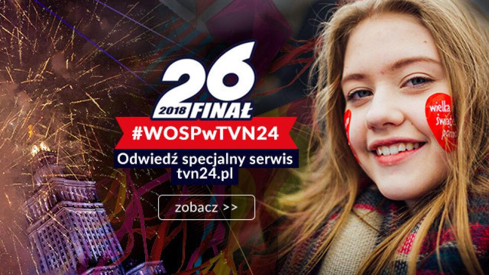 #WOSPwTVN24. Pokazujemy, jak grają Wasze serca! Przesyłajcie nam swoje relacje