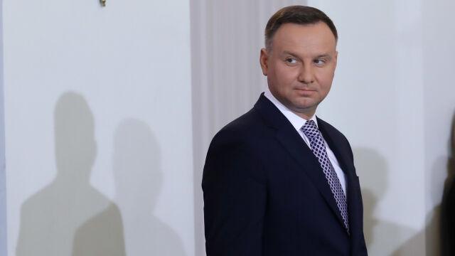 Prezydent Duda: gratuluję objęcia urzędów