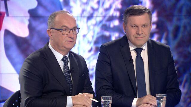 """Włodzimierz Czarzasty i Janusz Piechociński w """"Faktach po Faktach"""""""