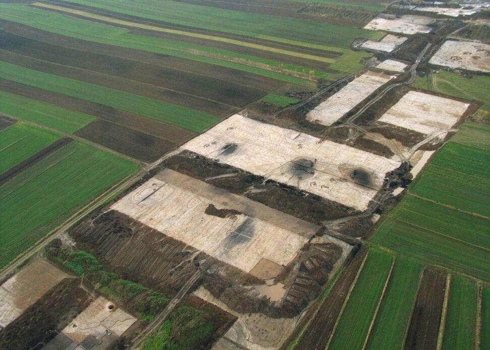 Badania arecheologiczne na odcinku autostrady Kraków-Tarnów