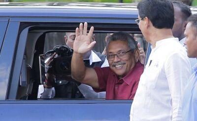 Gotabaya Rajapaksa, nowy prezydent Sri Lanki