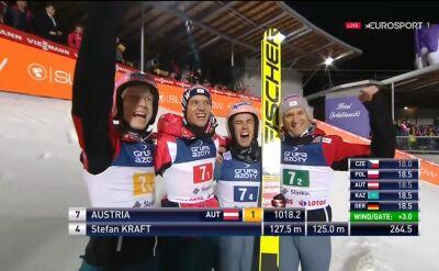 Austria wygrała konkurs drużynowy w Wiśle
