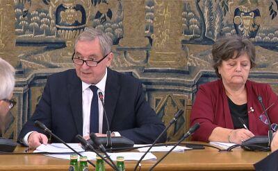 Burzliwa debata w sprawie projektu PiS