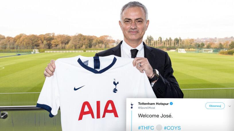 """Anglicy wypominają deklarację Mourinho. """"Nie mógłbym pracować w Tottenhamie"""""""